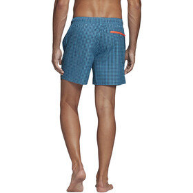 adidas Check CLX SH SL Shorts Heren, shock cyan